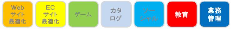 多数のiPad、Androidアプリ開発実績!