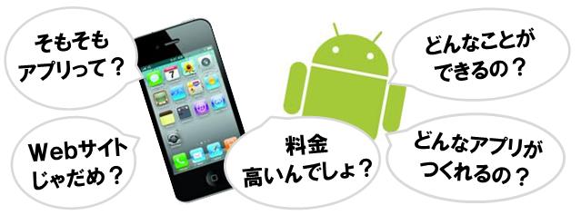 スマホ、タブレットアプリへの疑問